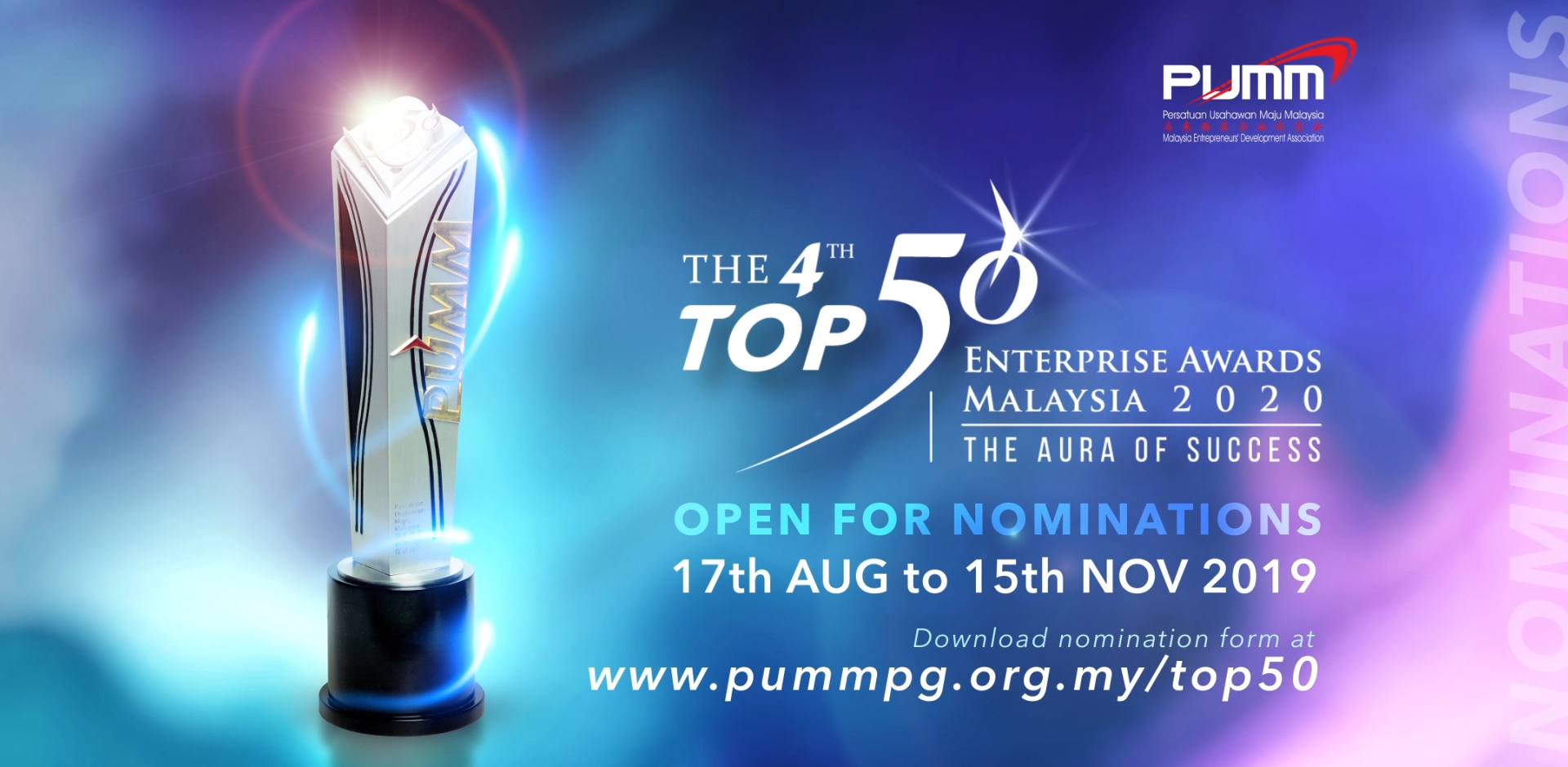 The 4th Top 50 Enterprise Awards Malaysia 2020